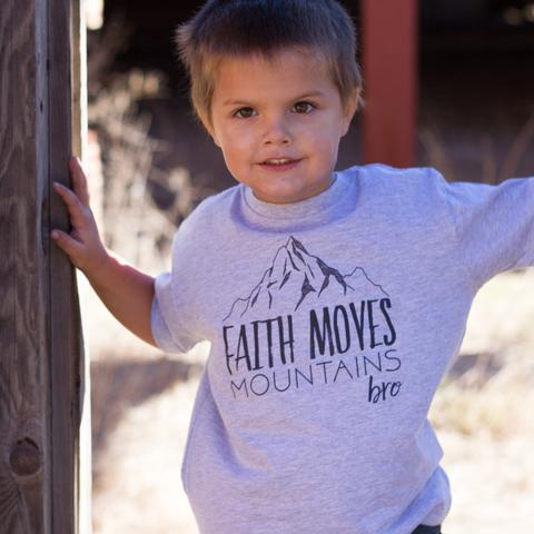 Faith Moves Mountains Bro Tee