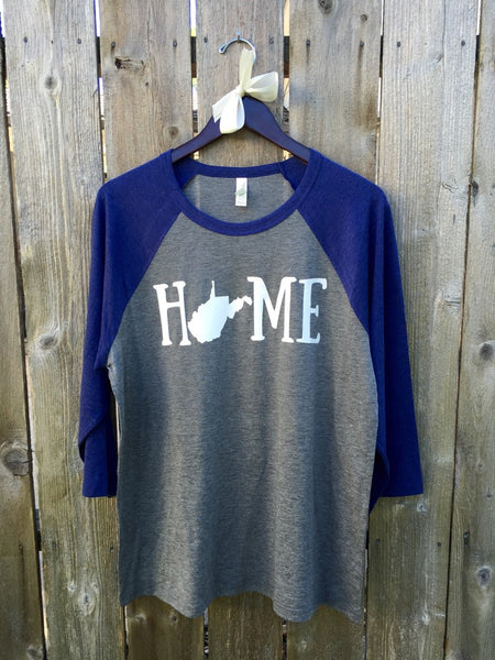 Home State Baseball Tees - Made to Order