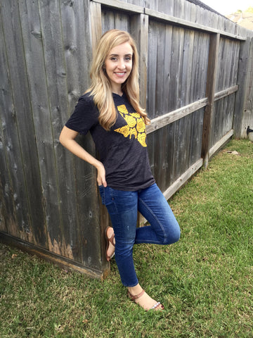 Texas Yellow Rose Tee