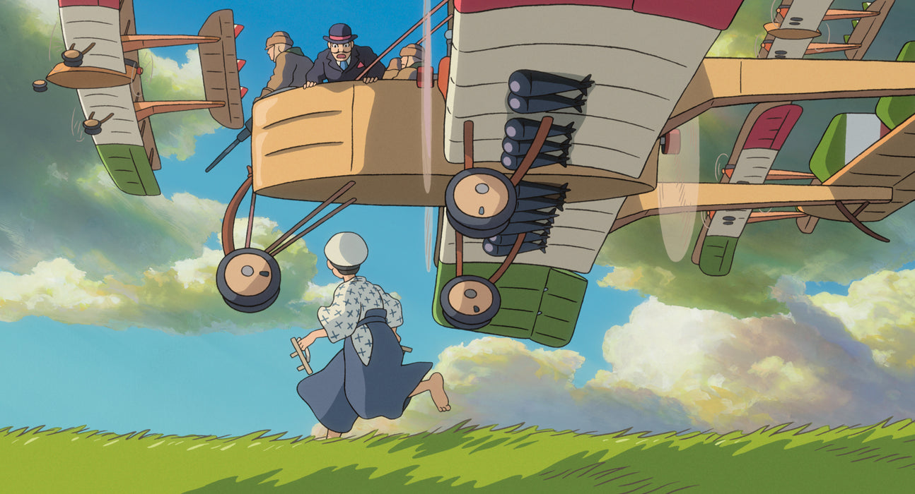 The Wind Rises Steelbook (Pre-order: Ships 6/22)