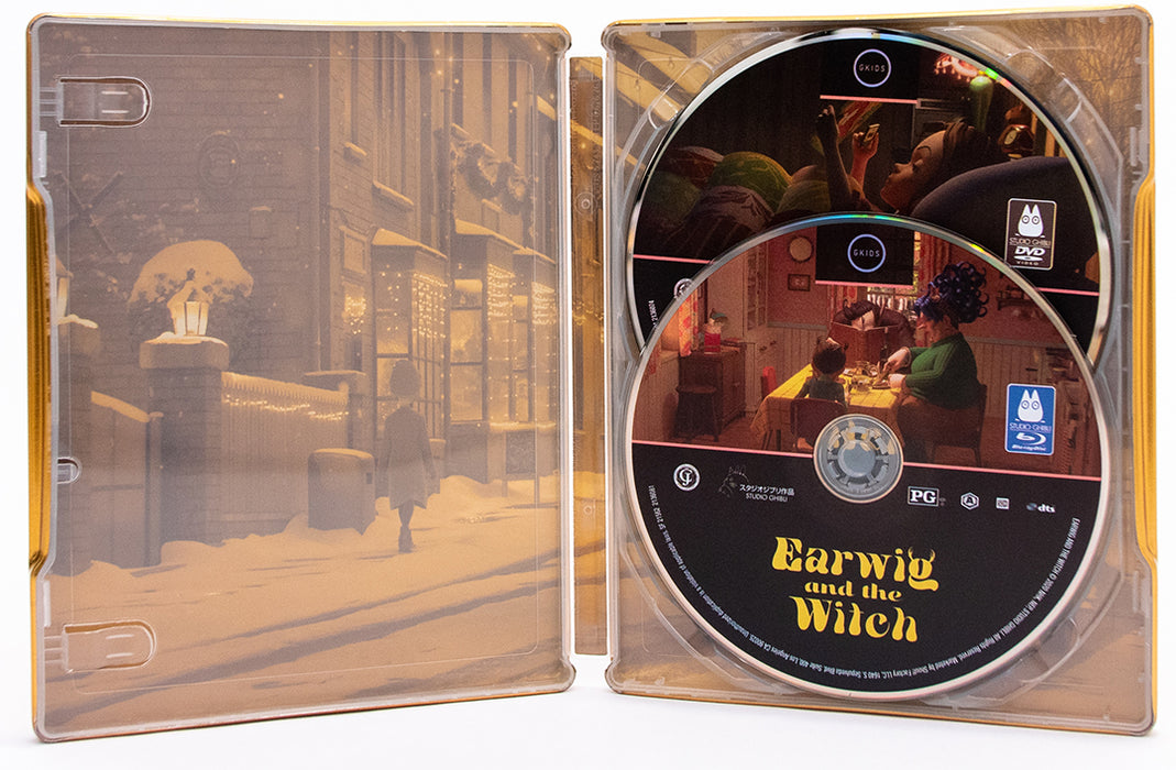Earwig and the Witch Steelbook