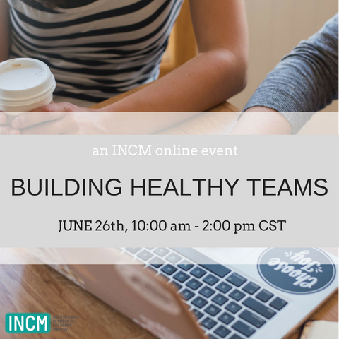 Building Healthy Teams Online Event - 2018