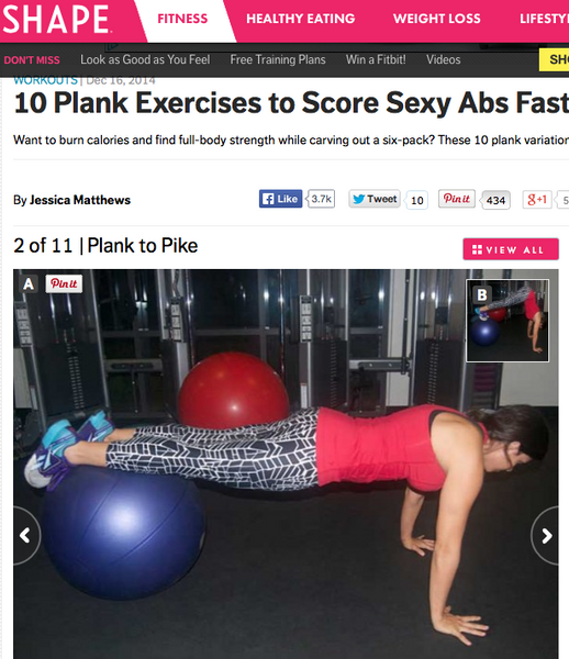 10 PLANK EXERCISES TO SCORE SEXY ABS FAST