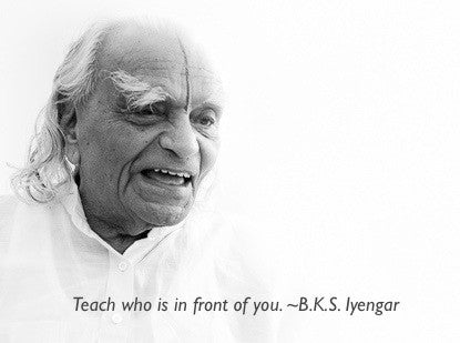 5 Reasons Why You Should Try an Iyengar Yoga Class