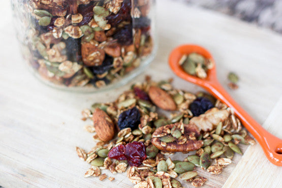 Healthy Pumpkin Spice Trail Mix
