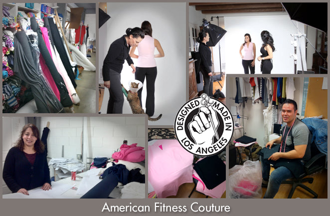 American Fitness Couture. Behind the Scenes