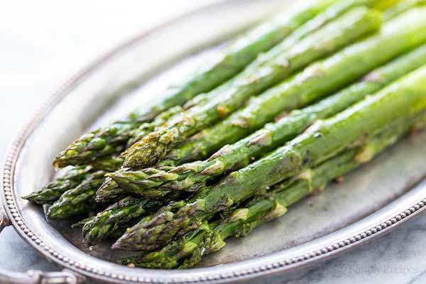 Roasted Asparagus with Grate Parmesan-Soup