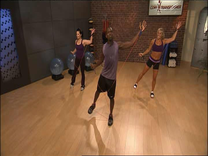 Core Transformer 1000 Calorie Burn Workout Video Screen image- 1