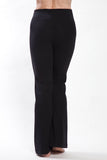 Women's Opaque Black Bootcut Yoga Pants