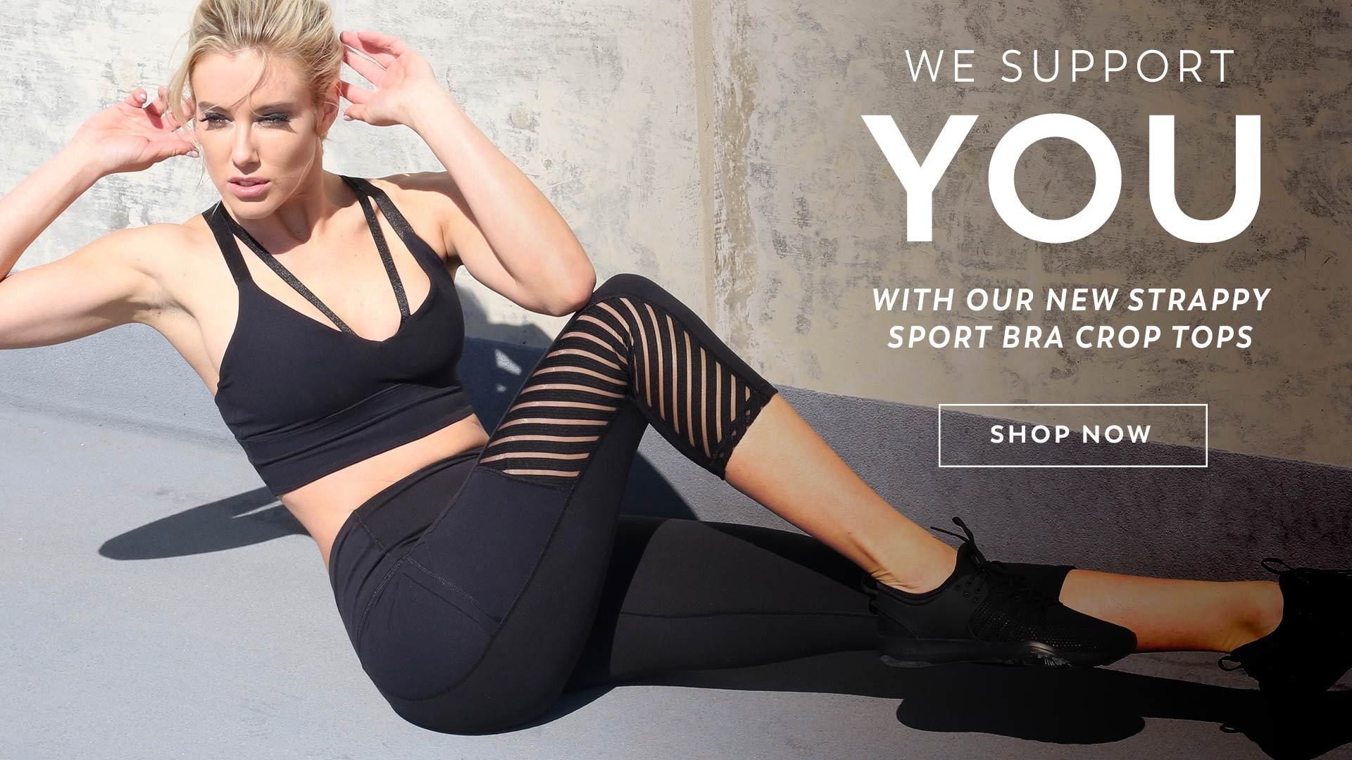 Heather Activewear Tops and Bottoms