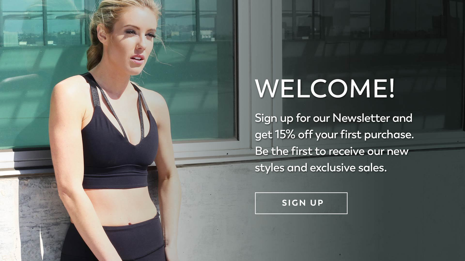 Newsletter Sign Up 15 Percent Discount