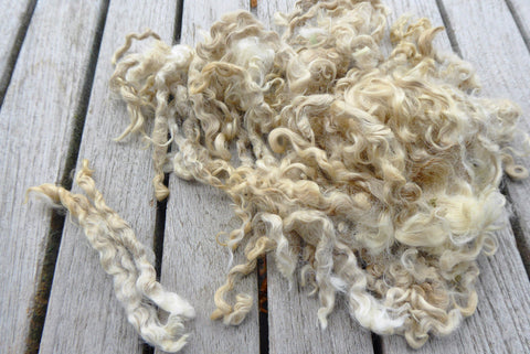 Yearling mohair fleece