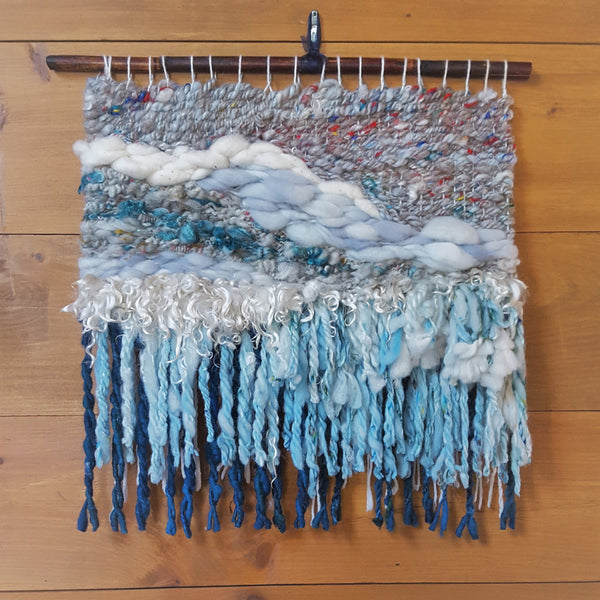 Freeform Tapestry Weaving, Sunday August 11, 2019