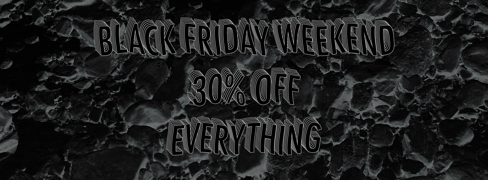 WASTED TALENT BOUTIQUE - BLACK FRIDAY