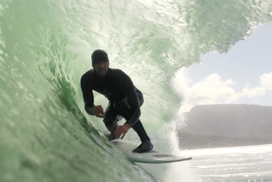brendon gibbens surf winter cape wasted talent latest video