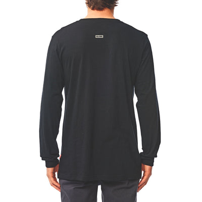 Wasted Talent | Globe Long Sleeve T-Shirt - Black