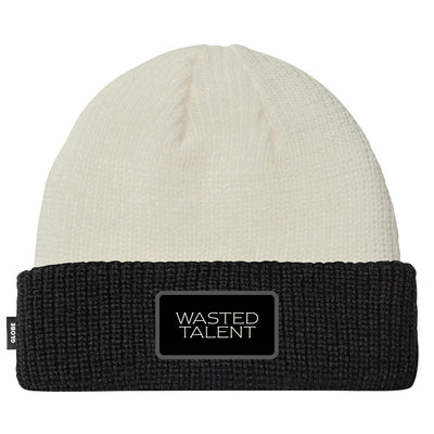 Wasted Talent | Globe Beanie - Milk