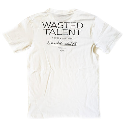 Wasted Talent Hossegor T-Shirt - White