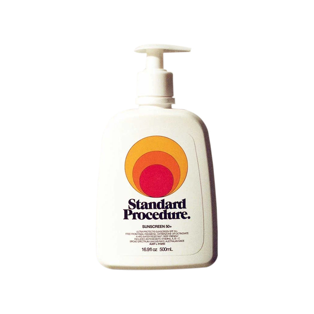 Standard Procedure SPF 50+ Sunscreen Pump - 500ml