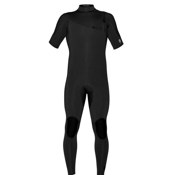 Adelio Connor Zipperless 2/2 Short Arm Steamer Black Wetsuit