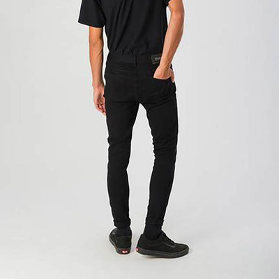 Afends Junky Skinny Fit Jeans - Faded Black