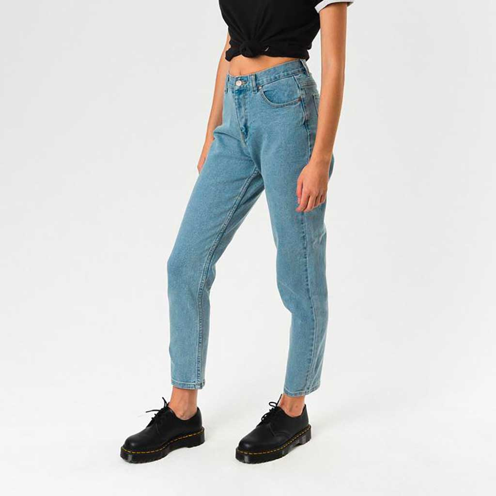 1fbb4dcef9 Afends Luckies Slim Jeans - Stone Blue - Wasted Talent - Wasted ...