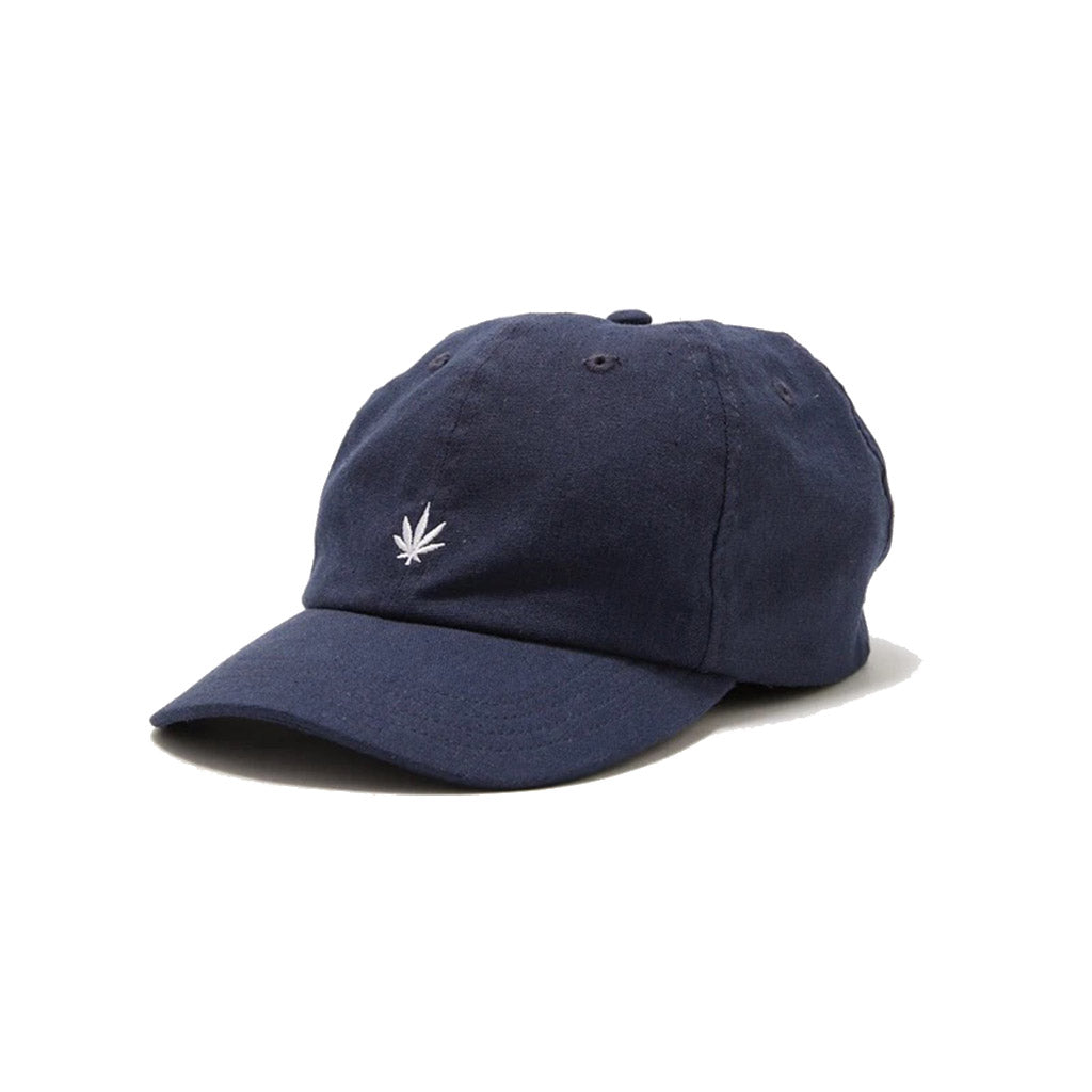 Afends THC Hemp 6 Panel Cap - Navy