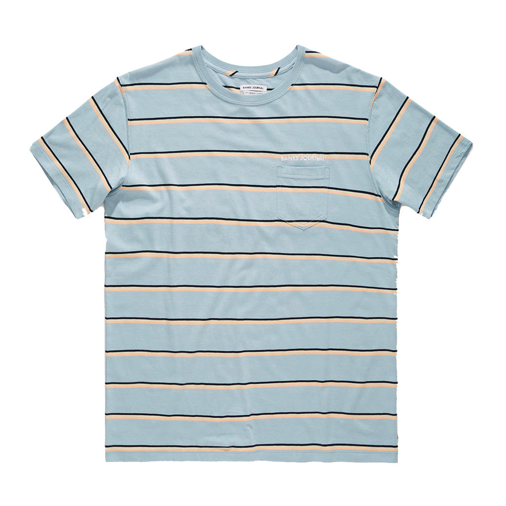 Banks Journal Notify T-Shirt - Blue Fog