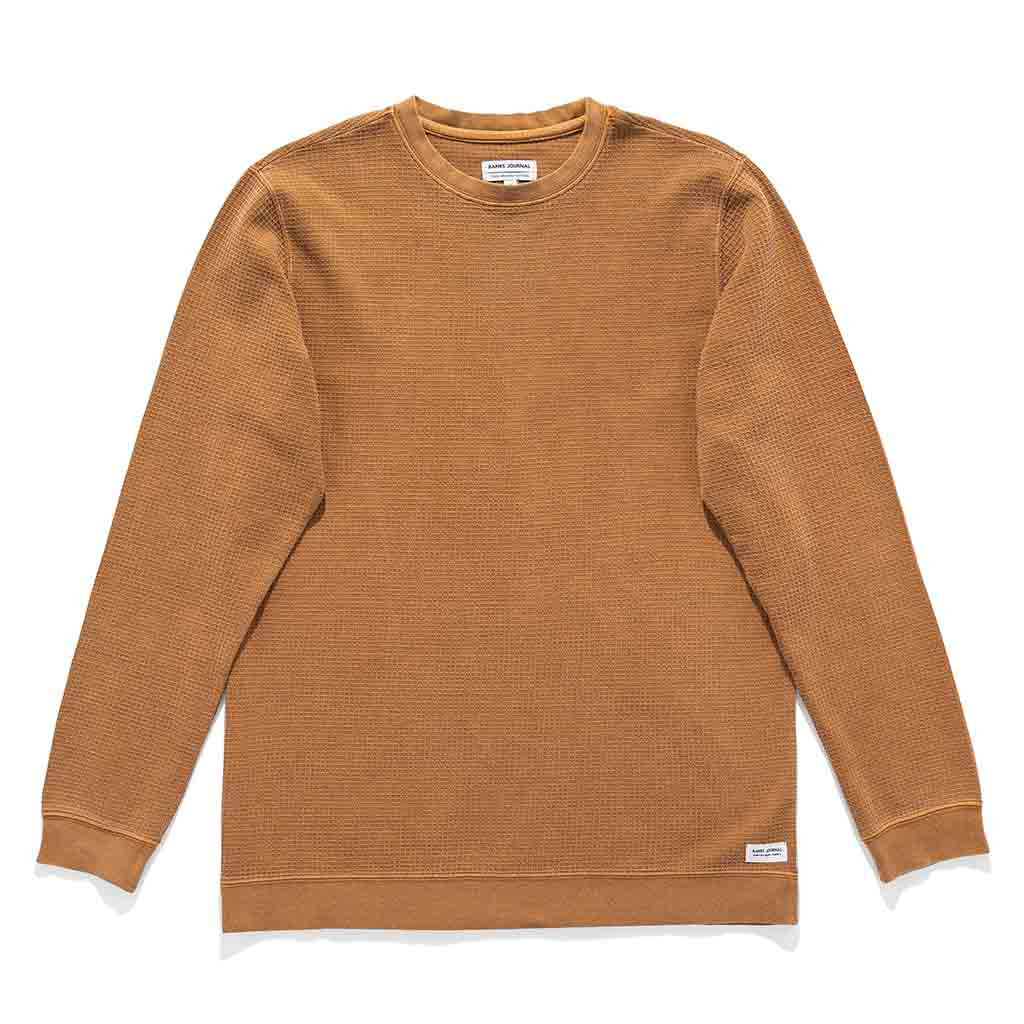 Banks Journal Preston Fleece - Toffee