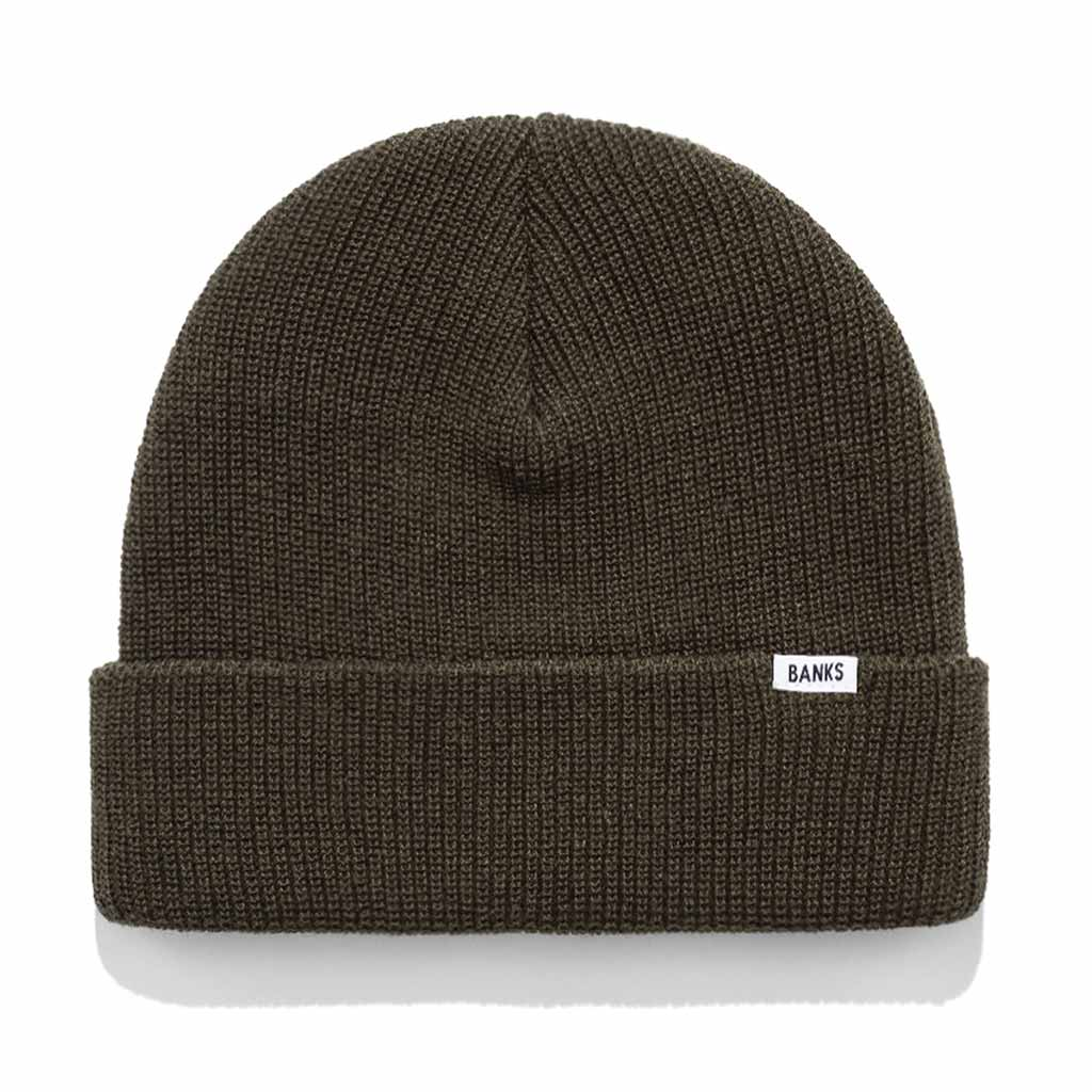 Banks Journal Primary Beanie - Olive Military