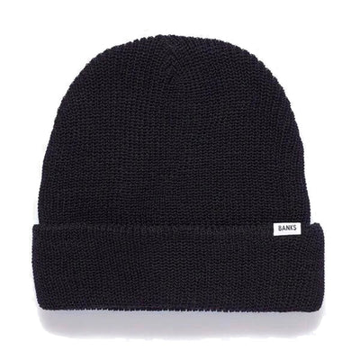 Banks Journal Primary Beanie - Dirty Black