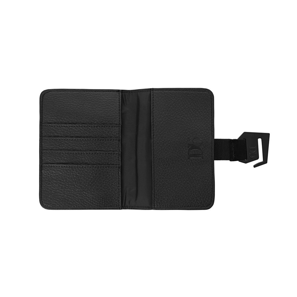 Douchebags The Voyage Passport Cover - Black