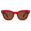 EPØKHE Dylan Sunglasses Blood Red / Bronze