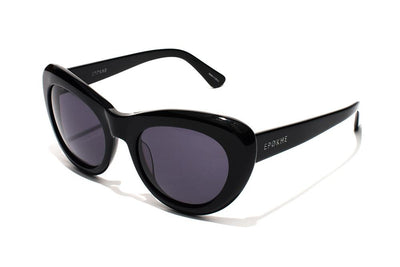 Epøkhe Klara Sunglasses - Gloss Black Grey