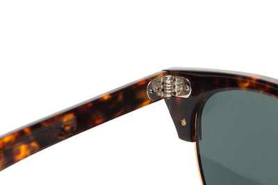 Epøkhe Neto Sunglasses - Tortoise Polished Gold Green