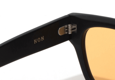Epøkhe Non Sunglasses - Black Matte / Light Amber