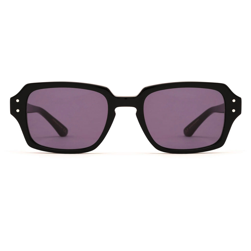 Epokhe Wilson Sunglasses - Black Polished Black