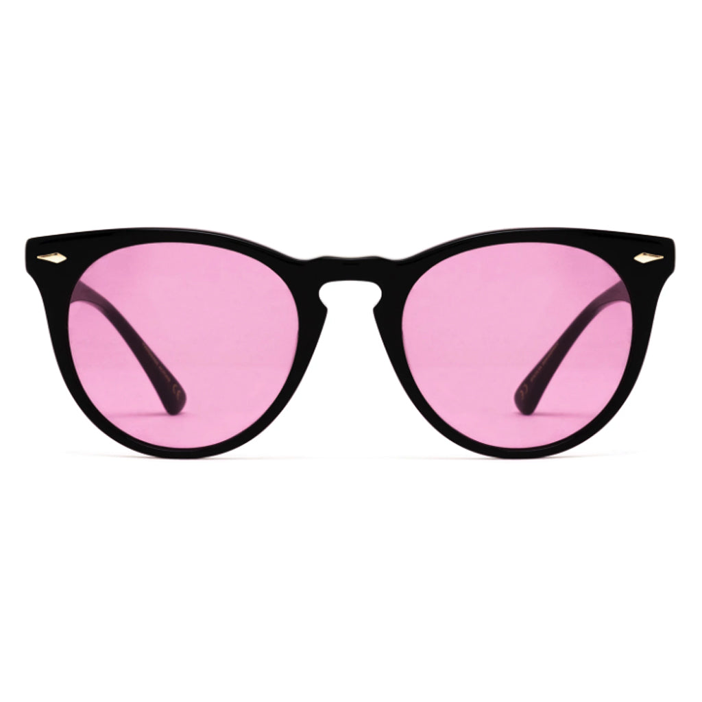 Epokhe Darko Sunglasses - Black Polished Velvet