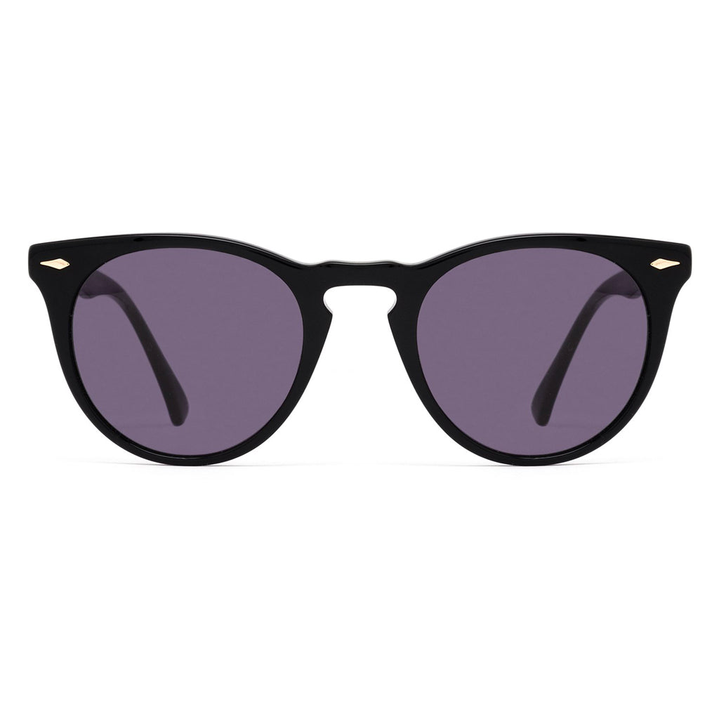 Epokhe Darko Sunglasses - Black Polished Black