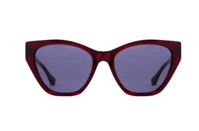 Epøkhe Zaya Sunglasses - Rosewood Polished / Black