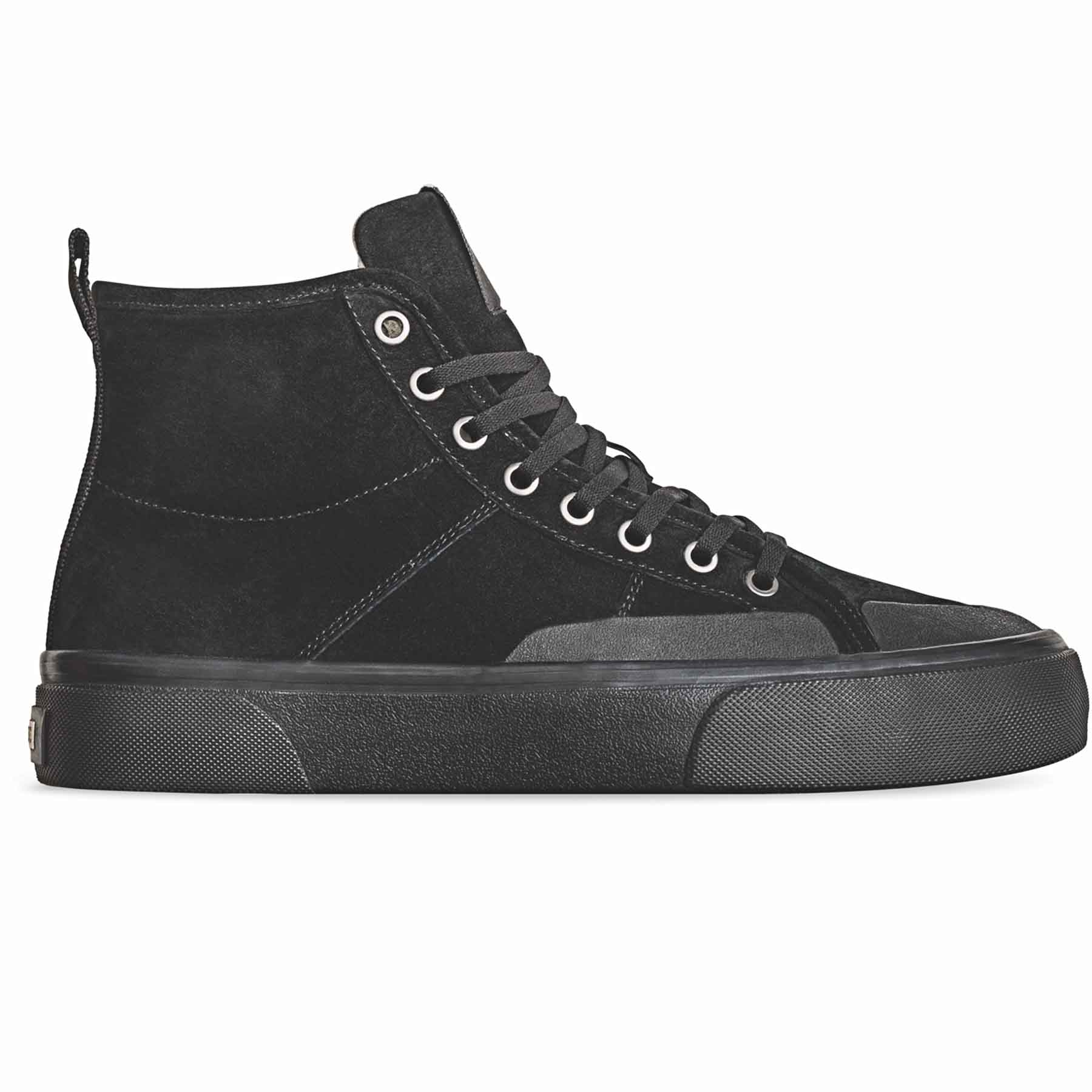 Globe Los Angered II - High Top Skate Shoes - Black Wolverine / Montano