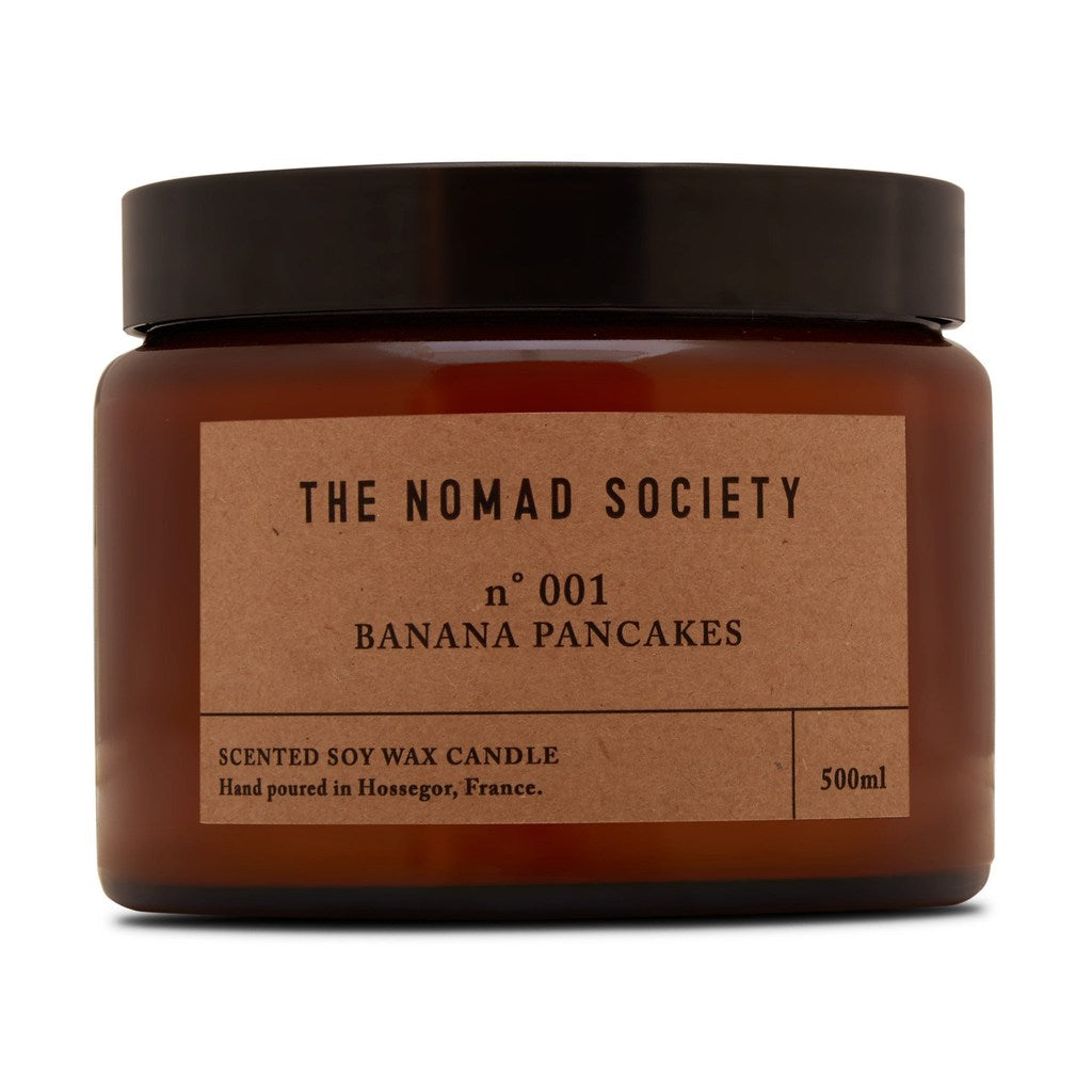 Nomad Society Banana Pancakes Soy Candle - 500ml