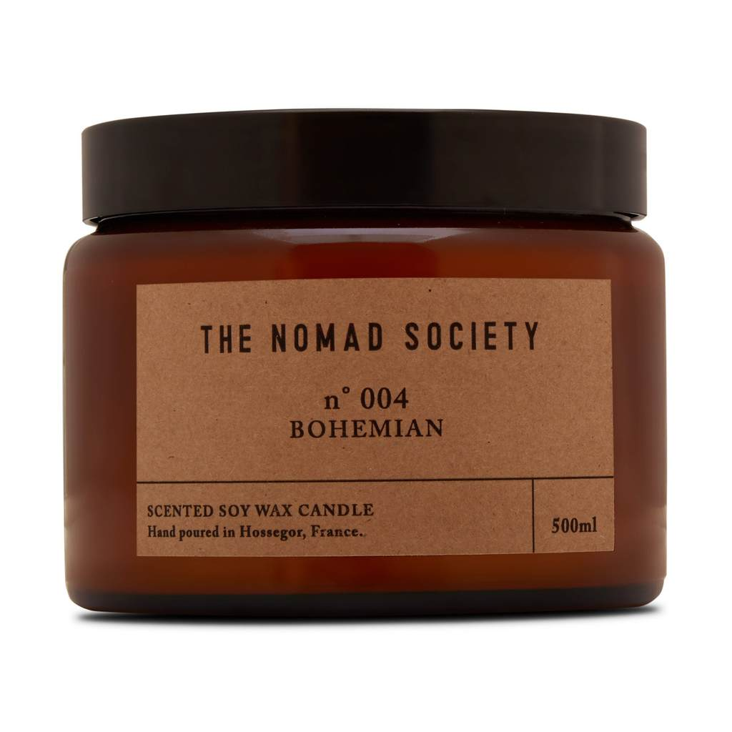 Nomad Society Bohemian Soy Candle - 500 ml