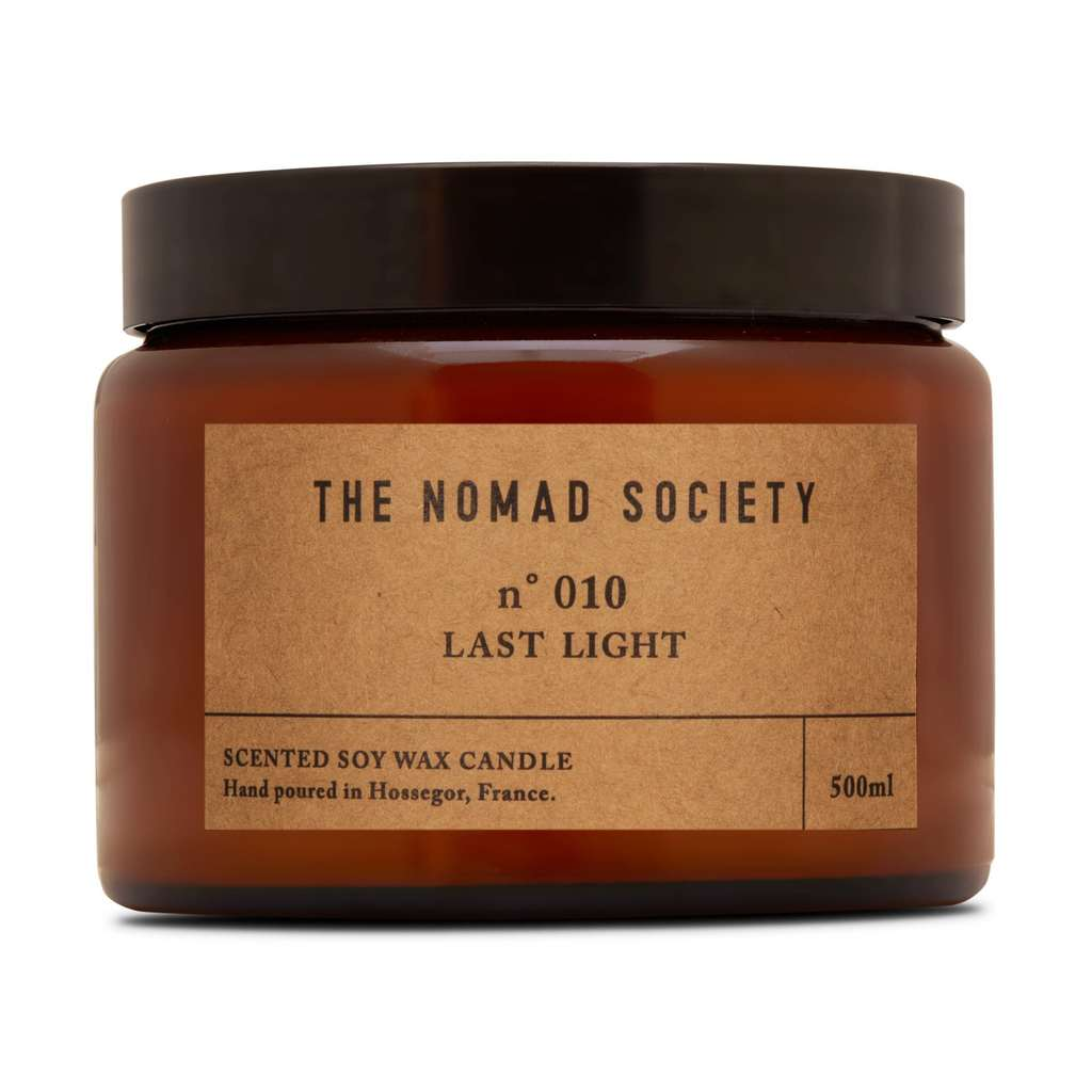 Nomad Society Last Light Soy Candle - 500ml