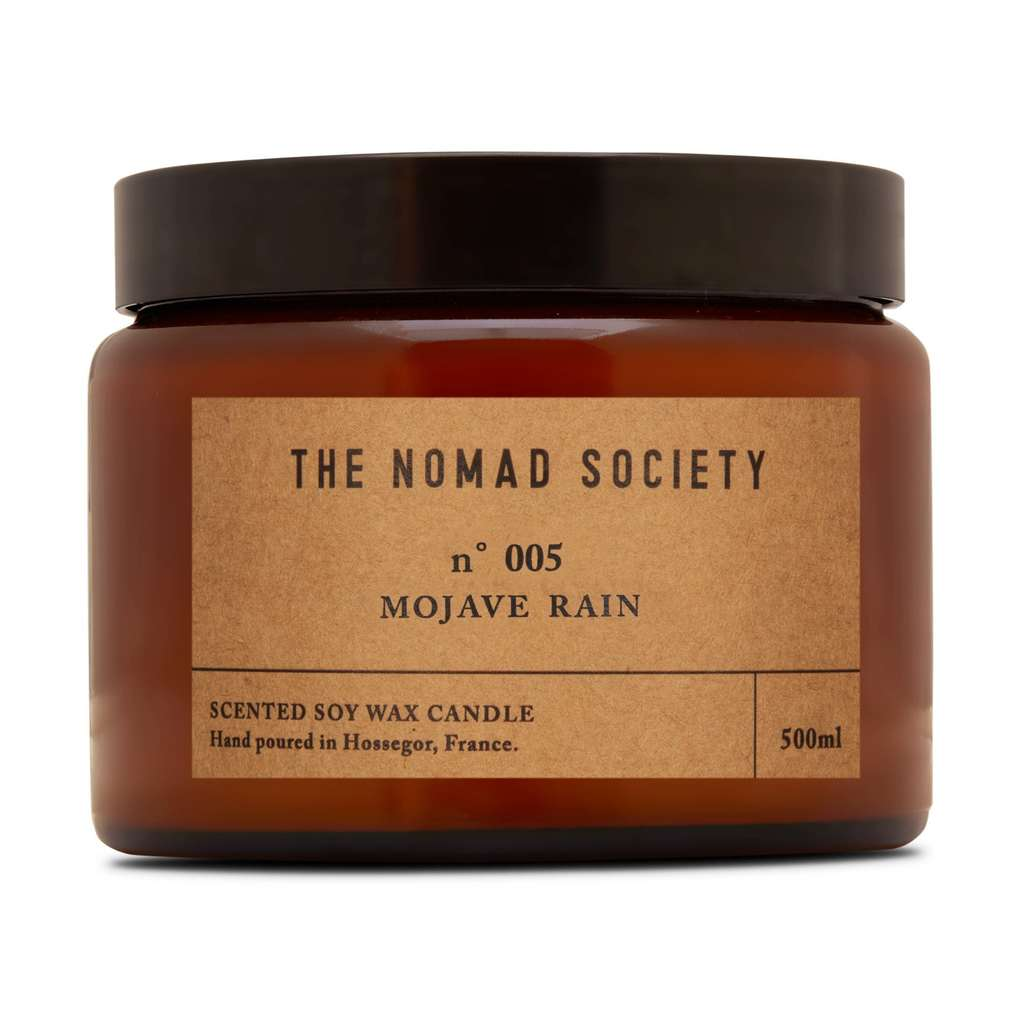 Nomad Society Mojave Rain Soy Candle - 500ml