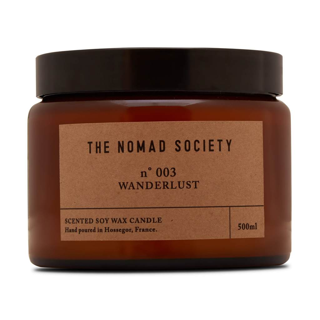 Nomad Society Wanderlust Soy Candle - 500ml
