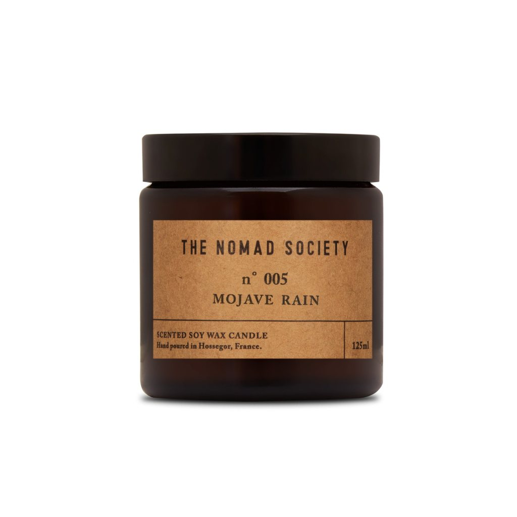 Nomad Society Mojave Rain Soy Candle - 120ml