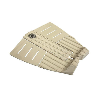 Octopus Dion Agius III - Hybrid Grip Surfboard Tail Pad - Cream