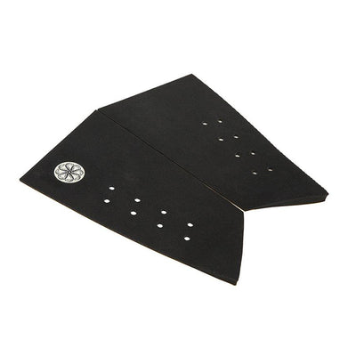 Octopus Swallow - Corduroy Grip Surfboard Tail Pad - Black