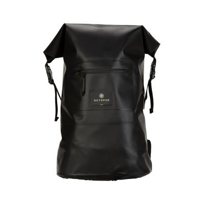 Octopus wetsuit dry bag backpack in black